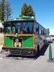 Un trolley pour faire la visite/A trolley to make a tour