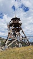 La Fire Tower sur la Tower Hill qui servait à surveiller les départs d'incendie