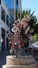 Une des nombreuses créations d'art de Portland