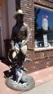Une des nombreuses statues de Troutdale